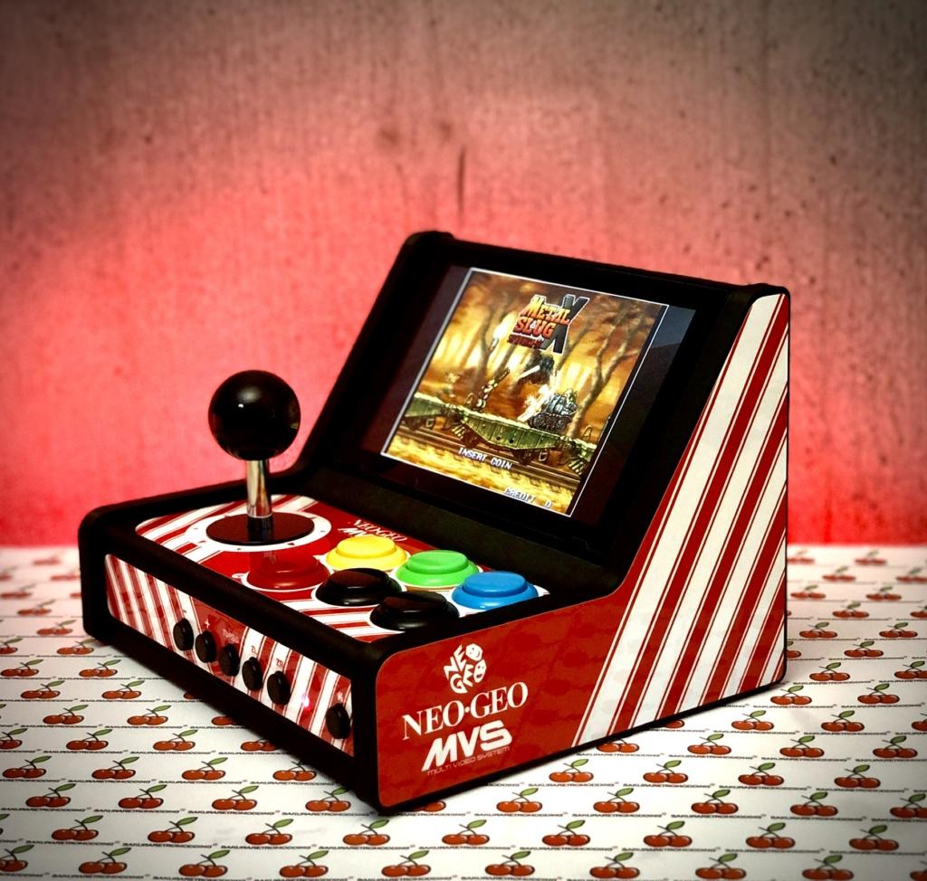 ArcadeSwitch mini Bartop Nintendo Switch full Sanwa C6dc6210