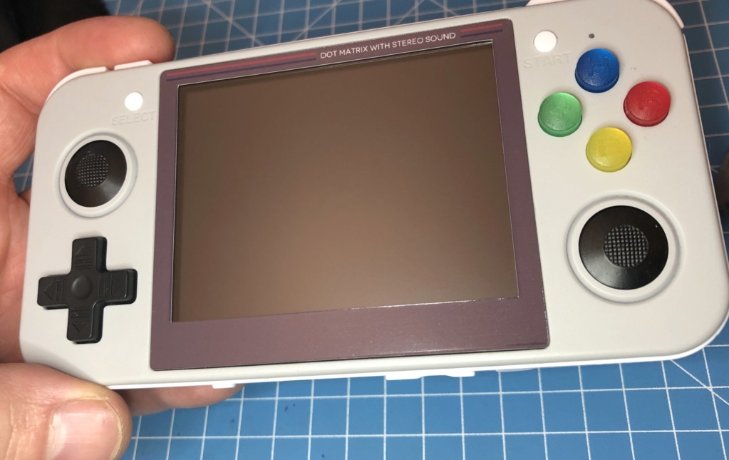 RG350 Stickers écran  Caa1b510