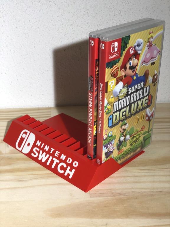 Support pour Rangement Boîte de Jeux Ps4 Switch Wii F2ce7910