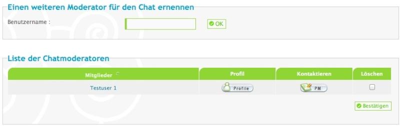 Chatbox - die Einstellungen, Befehle und weitere Infos Forumi15
