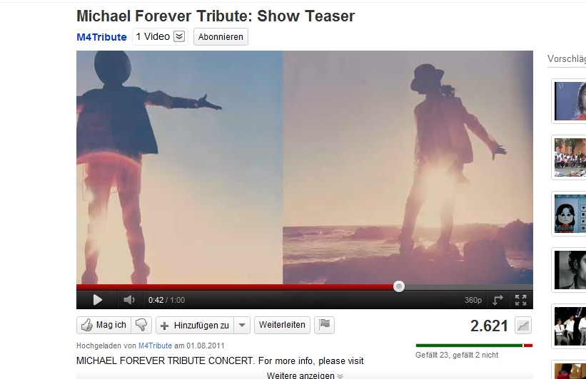 Michael Forever, A Tribute Concert M4210