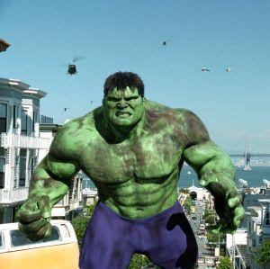 STREET VIEW : On a retrouvé Hulk, Edimbourg, Royaume-Uni Hulk0210