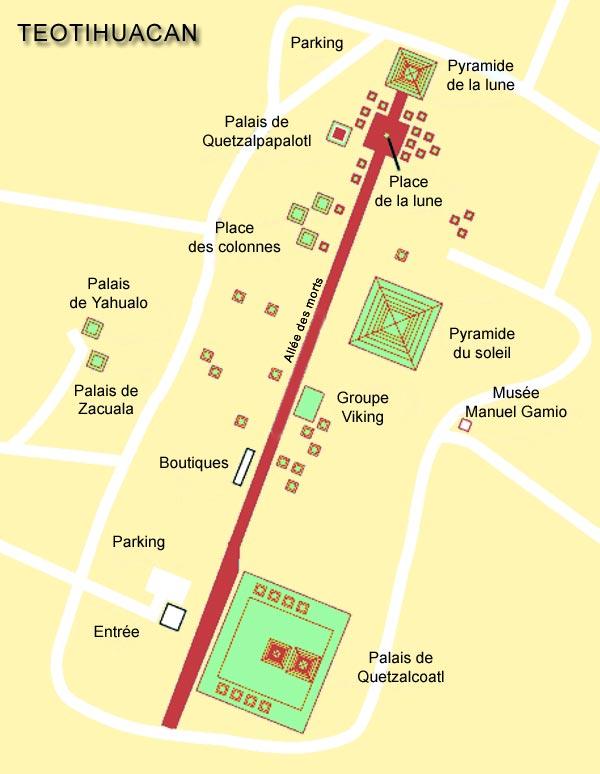 [Mexique] - Teotihuacán, la cité des dieux Plan10