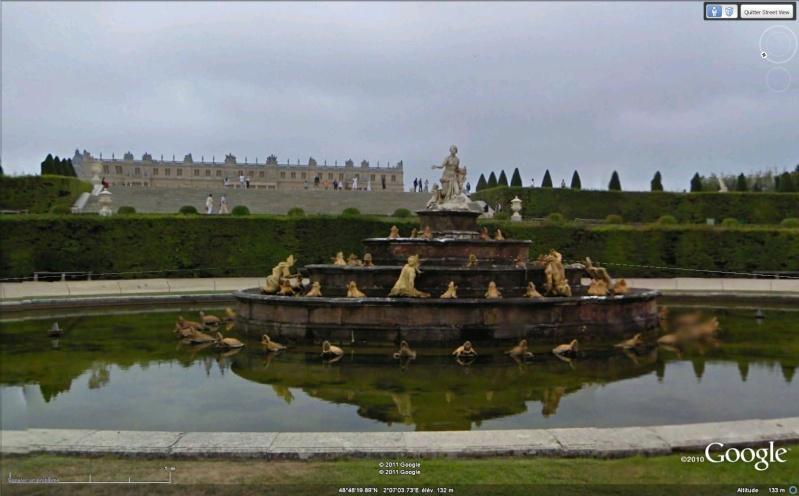 STREET VIEW : Château de Versailles, Yvelines. Versai11