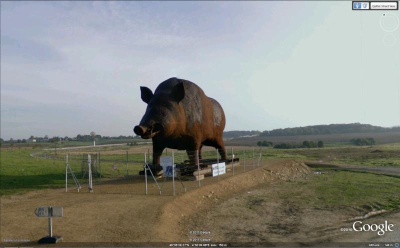 STREET VIEW : Les statues d'animaux dans le monde - Page 3 Woinic10