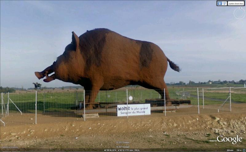 STREET VIEW : Les statues d'animaux dans le monde - Page 3 Woinic11