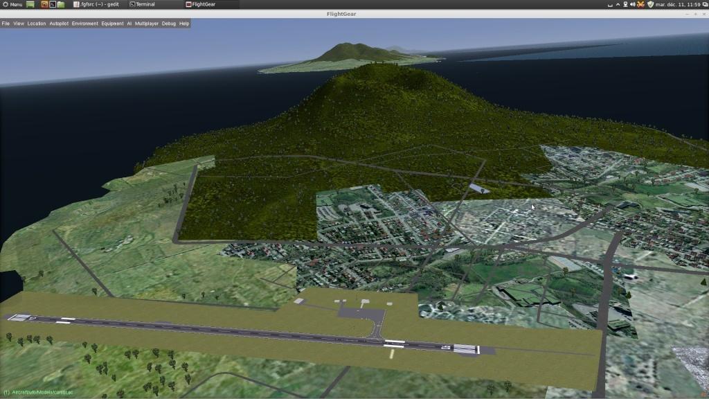 [Scenery] Les Antilles N/E avec apt850 et routes OSM Captur47