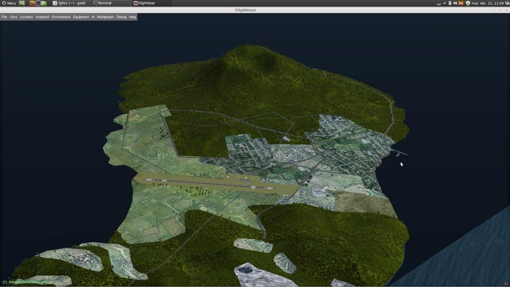 [Scenery] Les Antilles N/E avec apt850 et routes OSM Captur50