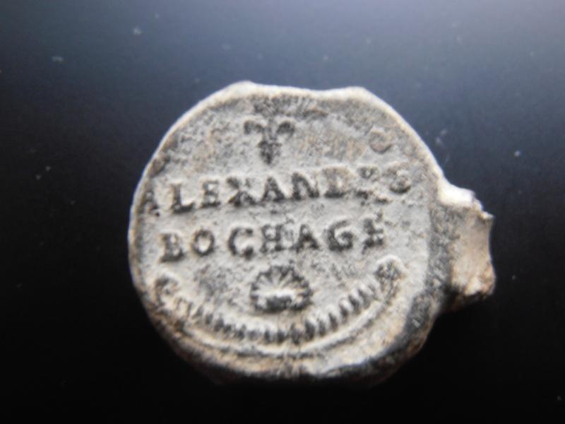 Plomb de soierie - dernier quart du XVIIIe/1816. Pc280010