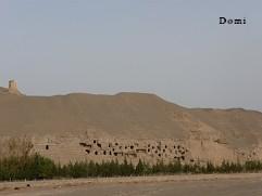 La Chine sac au dos (22) Gansu, septembre 2009 la Route de la soie. Episode 3: de Kasghar(喀什市) à Dunhuang (敦煌) Dunhua14