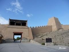 La Chine sac au dos (22) Gansu, septembre 2009 la Route de la soie. Episode 3: de Kasghar(喀什市) à Dunhuang (敦煌) Jiayug12