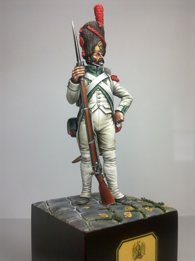 Grenadier en habit blanc du 3e Rgt-1806 E-gren10