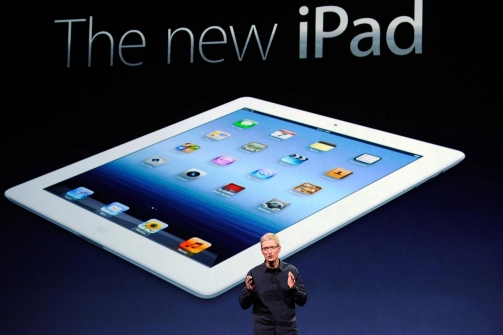 iPad, only language of Tablets 13311410