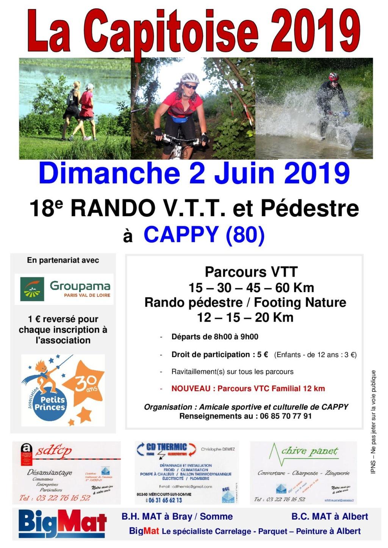 [80] La Capitoise - Dimanche 2 juin 2019 - CAPPY Affich11