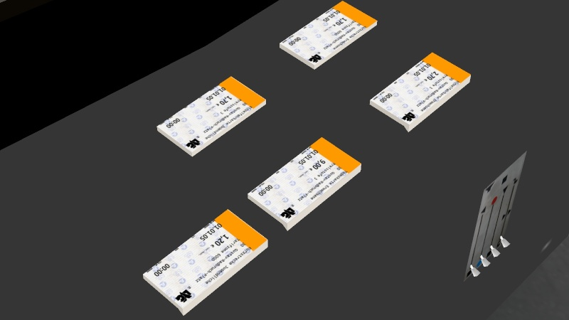 Lübecker Fahrkarten von `05 Omsi_210