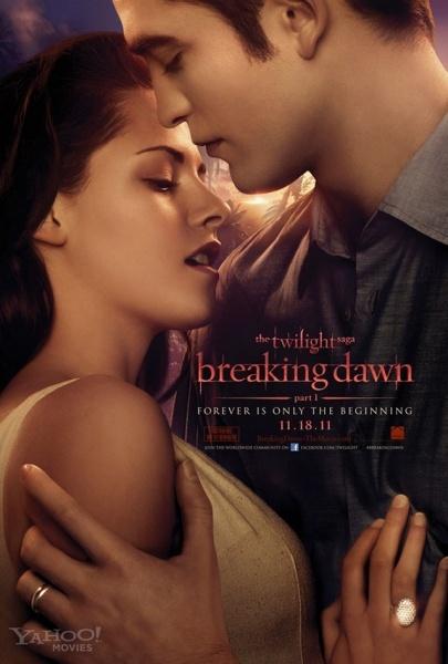 الجزء الرابع من السلسلة الرائعة Twilight-4-Breaking Dawn Part 1 نسخة BRRip للتحميل على الميديافاير  Twilig11
