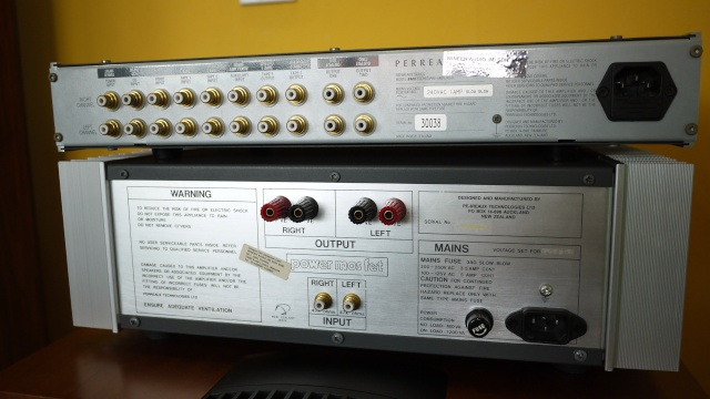 Perreaux SM5 Dual Channel Pre-Amplifier & 2370 Dual Channel Power-Amplifier (Used) - Reserve 07210