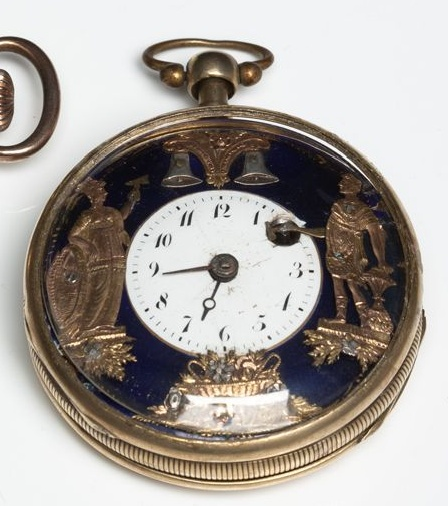 IMPORTANT GUIDE : how to recognise FAKE AUTOMATON POCKET WATCHES Coq_9_10