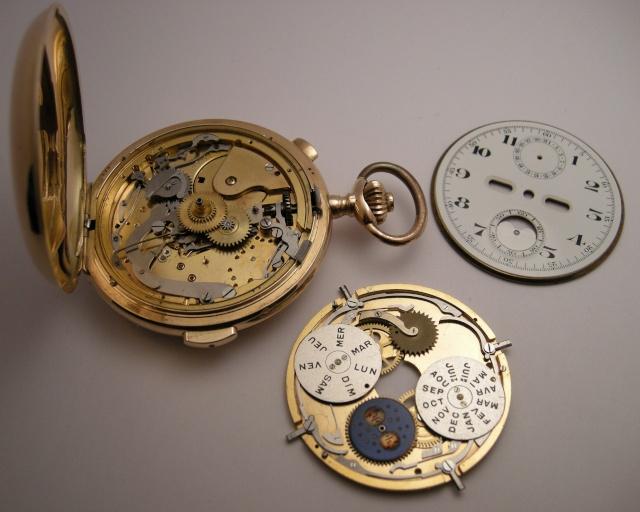 Le Phare, quarter repeater, chronograph, calendar, moon phase Dscn9618