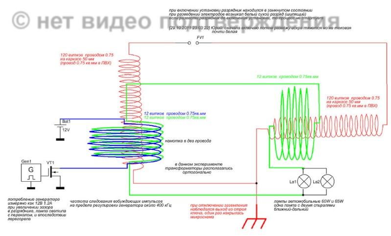 """Генератор из компьютерной """"мыши"""" Tk10"""