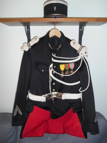 Gendarme - Tenue de cérémonie gendarme à cheval - VENDUE ! ! ! Dscn6731