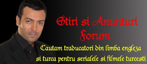 Stiri si Anunturi Forum
