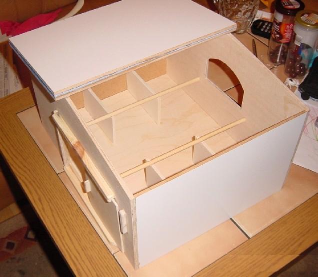 Stall für Spielzeugpferde Stallo11