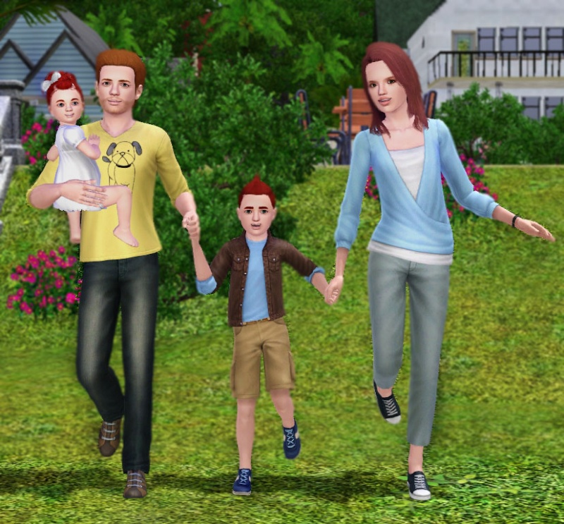 Family Time Pose Pack – With 2 Variations by Traelia Family10