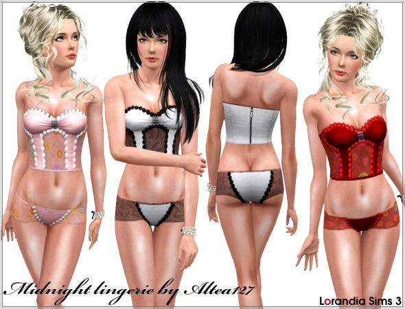 Midnight Lingerie by Altea127 @ Lorandia Midnig10