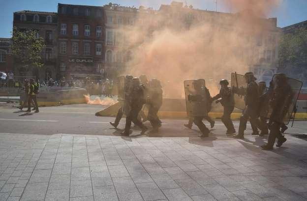 France: Toulouse est la «capitale» de l'acte XXII des «gilets jaunes»  Bbvu0b10