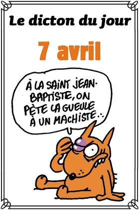 Le saint du jour 7 avril 2019- Saint Jean Baptiste de La Salle Dicton14
