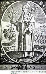 Le saint du jour 8 avril 2019- Saint Gautier Gautie10