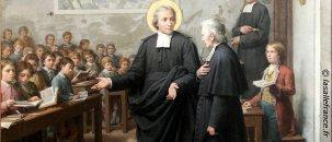 Le saint du jour 7 avril 2019- Saint Jean Baptiste de La Salle Jeanba12