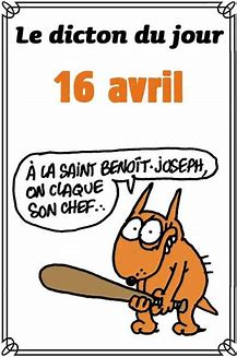 Le saint du jour Benoit 16 avril 2019 Sans-t14