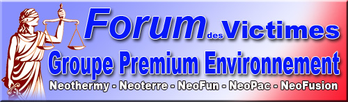 Victimes Groupe Premium Environnement