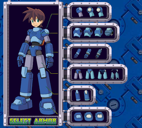 Select your own Armor Mml3tr10