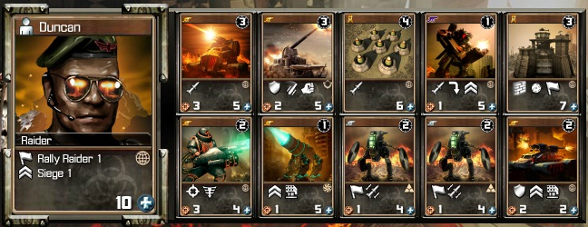 Raider Attack Deck Raider12