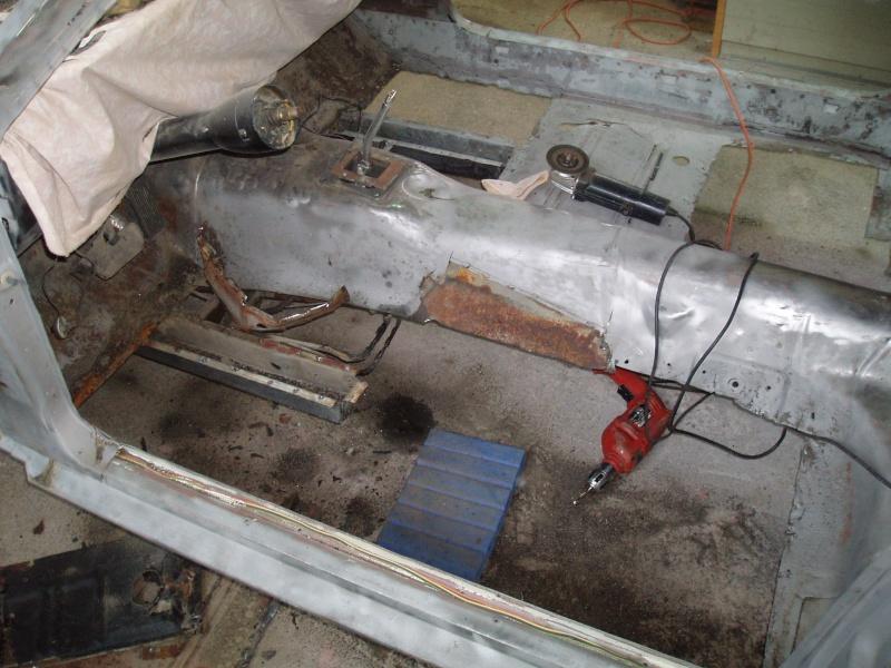 restauration ford mustang 1966 16mars11