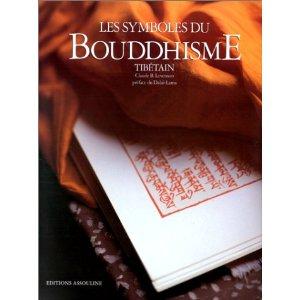 Bibliothèque/ Livres conseillés : Symboles du bouddhisme tibétain de Claude B Levenson   51933h10