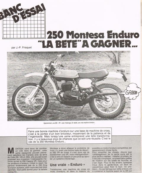 Montesa 250 Enduro 74/76 Cci26112
