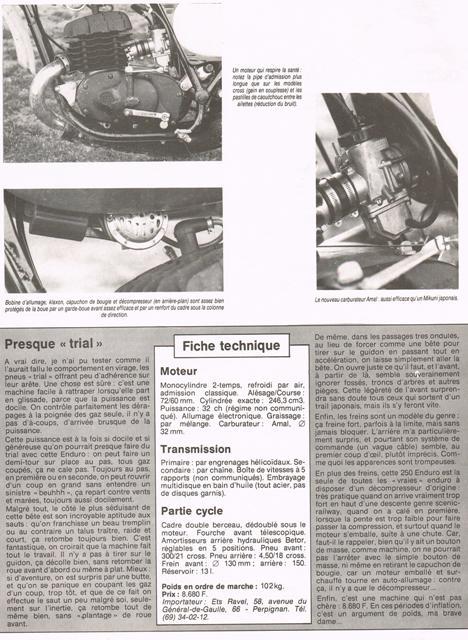 Montesa 250 Enduro 74/76 Cci26116