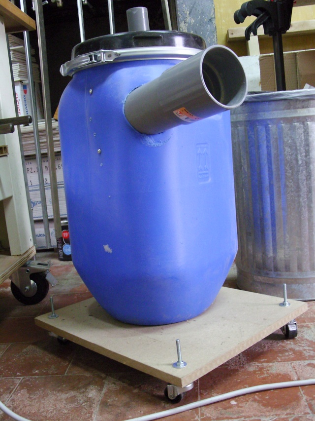 Aspirateur collecteur bidon/cyclone Snb15710