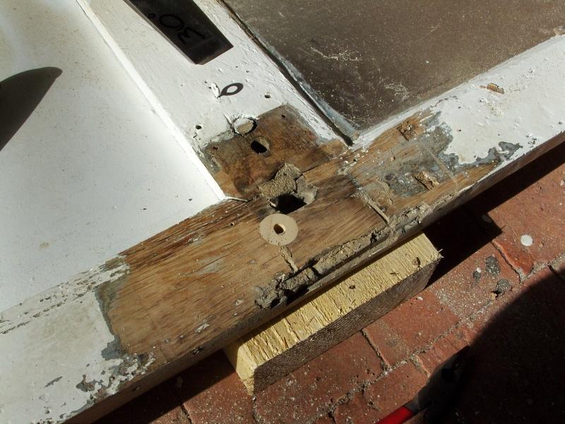 Réparation d'une porte autour de la serrure (RESOLU) Snb16713