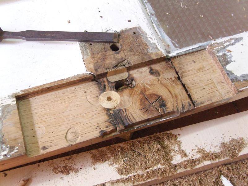 Réparation d'une porte autour de la serrure (RESOLU) Snb16715