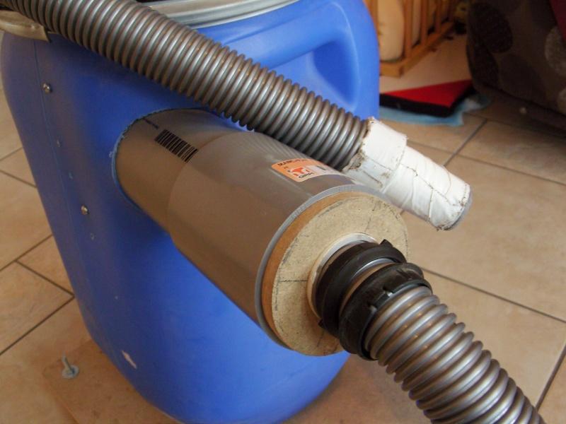 Aspirateur collecteur bidon/cyclone Snb16934