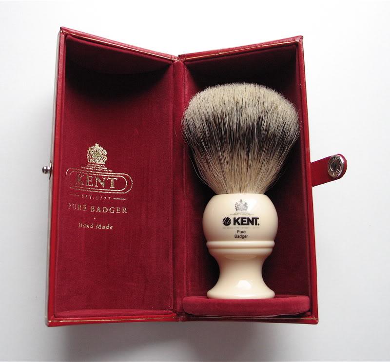 Blaireau Kent BK2 - Best badger - Noeud de 22mm Kent_b12