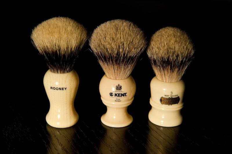 Blaireau Kent BK2 - Best badger - Noeud de 22mm Kent_b13