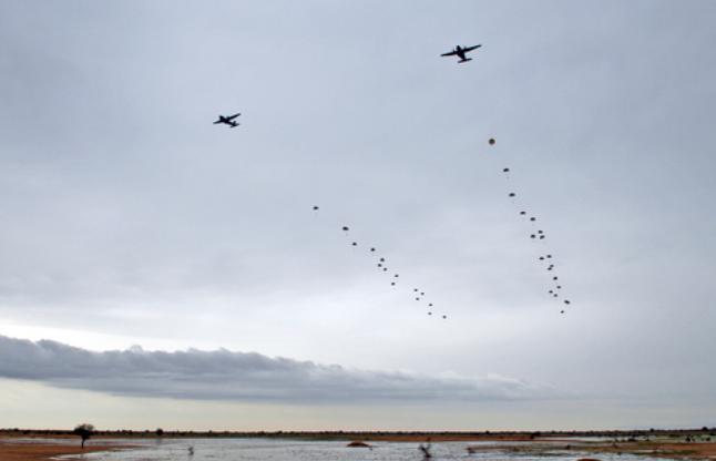 Tchad : l'interarmées au coeur d'un exercice aéroporté d'envergure Tchad-10