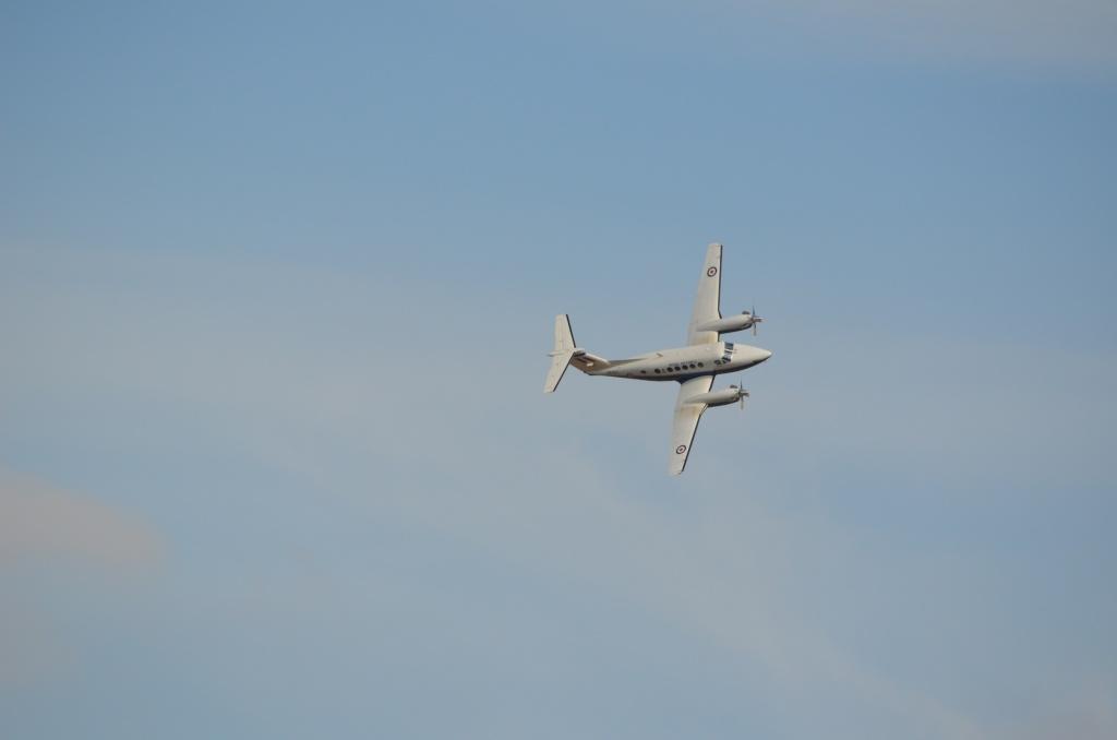 The Duxford Air show. Beech-12
