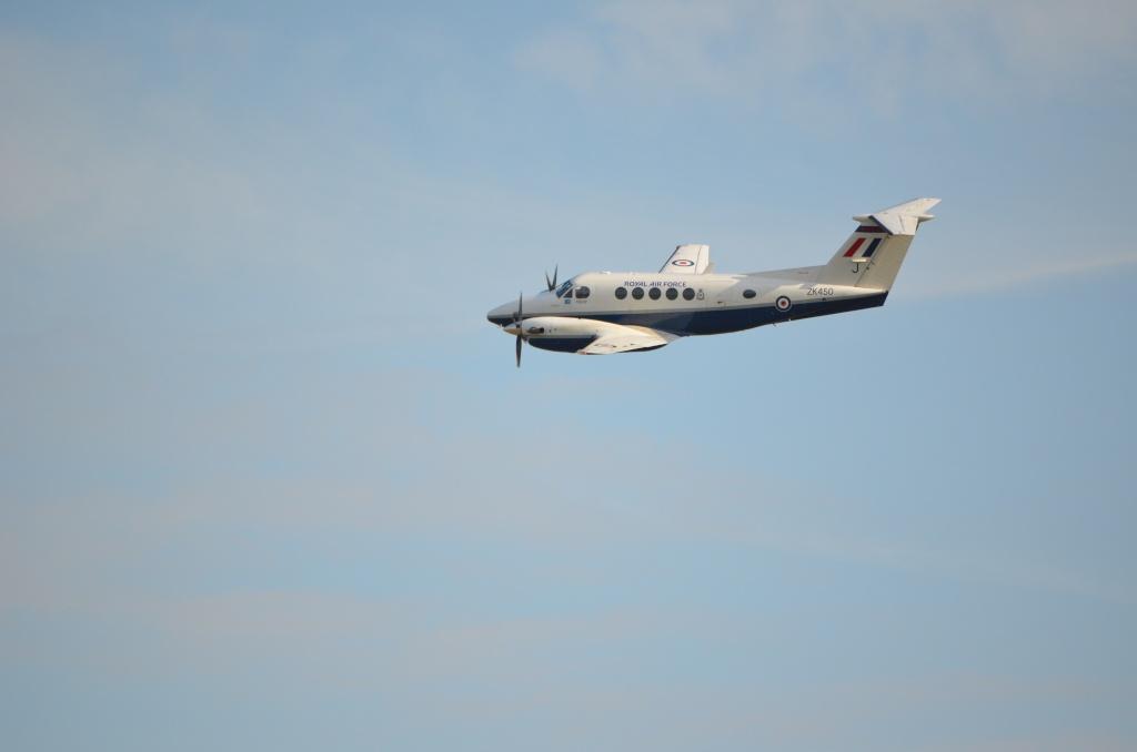 The Duxford Air show. Beech-14